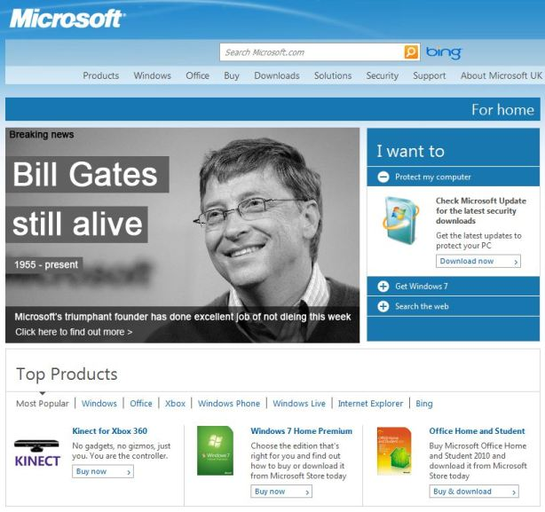 Bill gates still alive