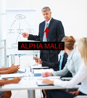 Alpha business man